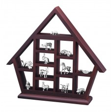 Zodiac with Wooden House 6158