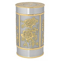 Four Seasons Tea Caddy (Gold) - 6402G