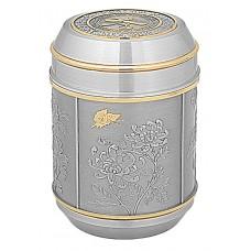 Four Seasons Tea Caddy (Gold) 6409AG
