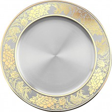 Floral Tray (Gold) - 2003AG