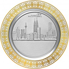 Malaysia Tray (3D) Gold - 2012AG